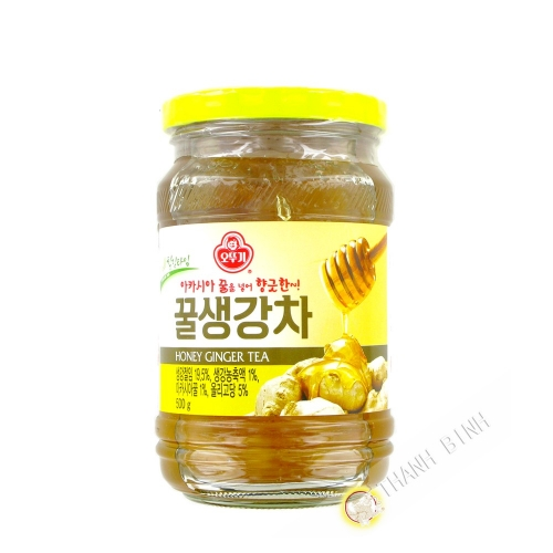 Tea ginger honey OTTOGI 500g Korea
