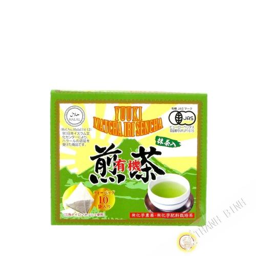 Té verde sencha orgánica SOAN 20g Japón