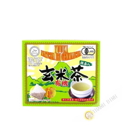 Green tea with rice blast SOAN 30g Japan