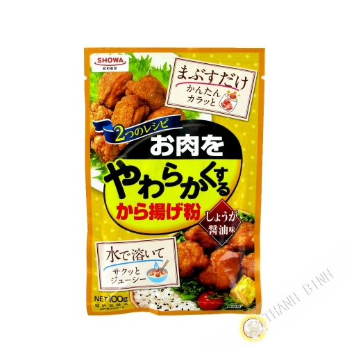 Flour fritter for frying Karaageko Shoyu OHMAI 100g Japan