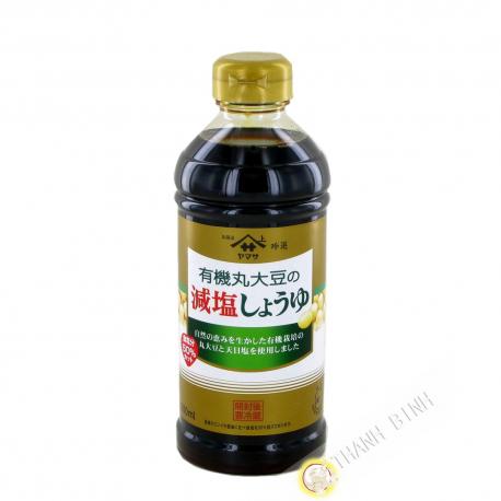 Sauce de soja reduit en sel organic YAMASA 500ml Japon