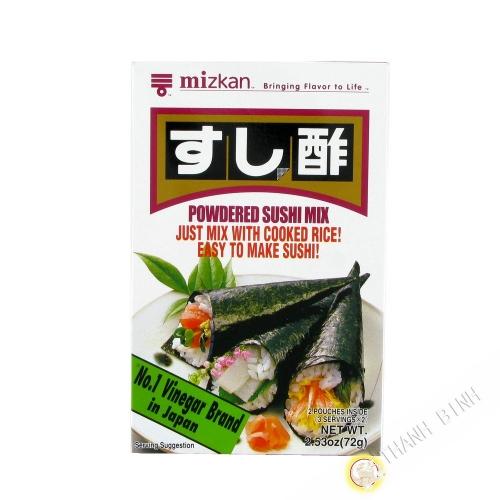 Vinagre de polvo MITSUKAN 72g Japón