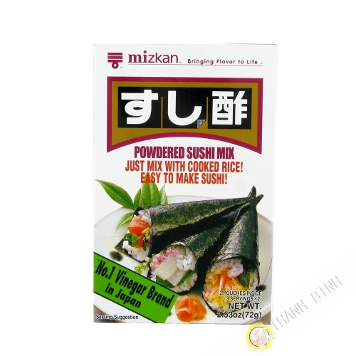 Vinegar powder MITSUKAN 72g Japan