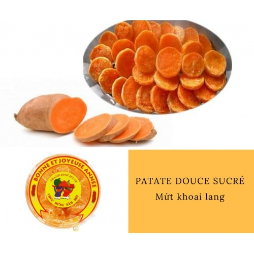 Patate douce sucrée DRAGON OR 200g Vietnam
