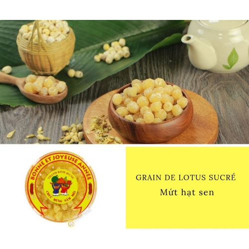 Graine de lotus sucré DRAGON OR 200g Vietnam