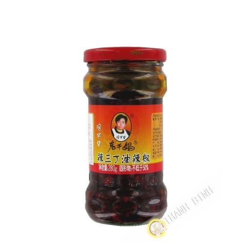 Sauce de pimente croustillante 275g Chine