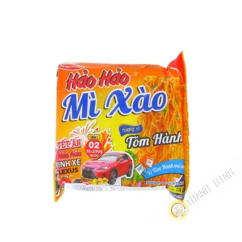 Instantánea de fideos salteados HAO HAO camarón cebolla ACECOOK 75g de Vietnam