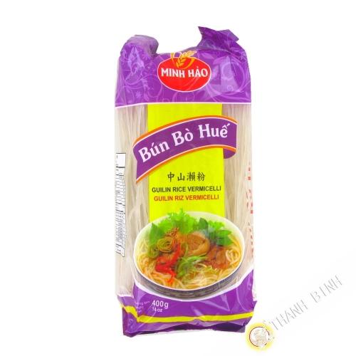 Vermicelle de riz Bun Bo Hue MINH HAO 400g Vietnam