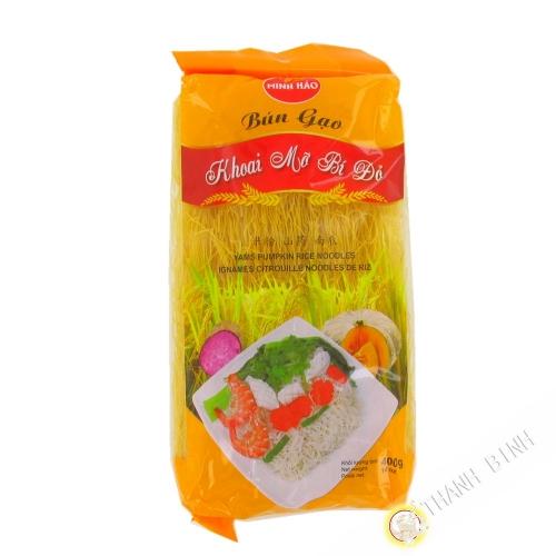 Fideos de arroz con calabaza ñame MINH HAO 400g de Vietnam