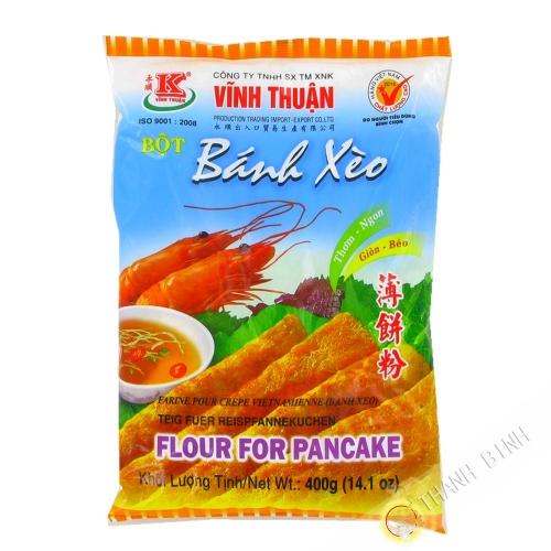 La harina de panqueques Banh Xeo VINH THUAN 400g de Vietnam
