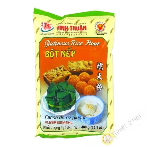 La harina de arroz glutinoso VINH THUAN 400g de Vietnam
