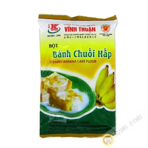 Flour cake banana steam VINH THUAN 340g Vietnam