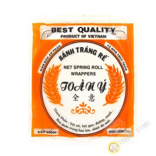 Fideos de arroz de encaje para las nem TOAN Y 250g de Vietnam