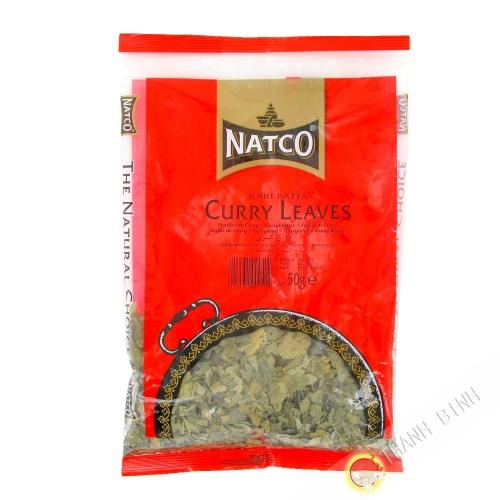 Foglia di curry NATCO 50g India