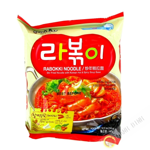 Nouille Ramen Rabokki Hot Spicy PALDO 145g Corée