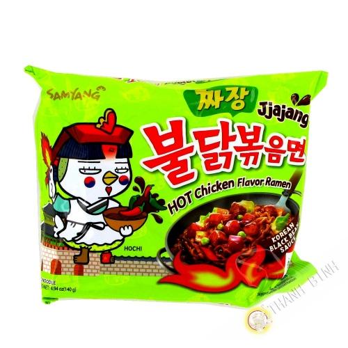 Ramen spicy Jjajang SAMYANG 140g Corée