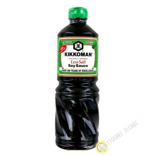 Soy Sauce, light 43% salt in less KIKKOMAN 1L netherlands