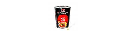 Soupe nouille Ramen Miso Oyakata cup AJINOMOTO 66G Japon