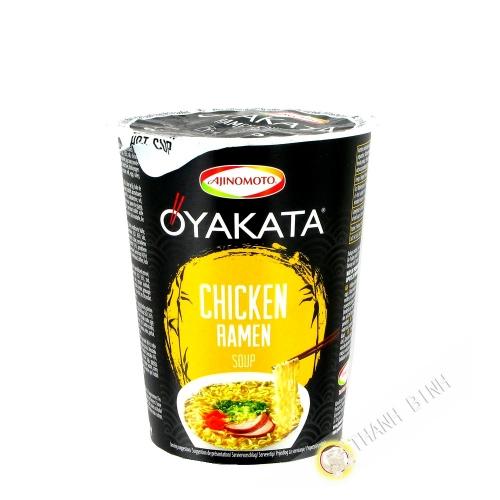 Soupe nouille Ramen poulet Oyakata cup AJINOMOTO 63G Japon