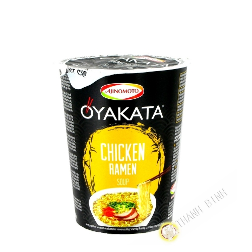 Suppe, nudel-Ramen huhn, Oyakata-cup AJINOMOTO 63G Japan