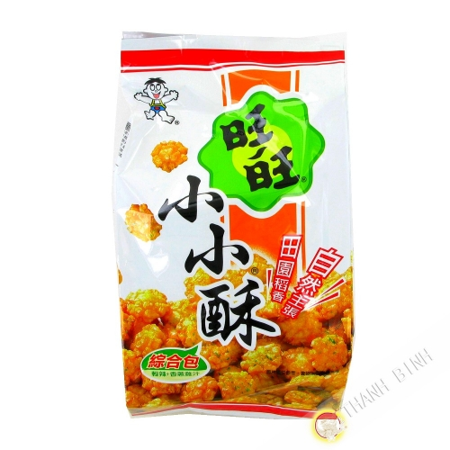 Mini crackers rice 150g Taiwan