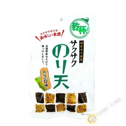 Cracker seaweed wasabi 42g Japan