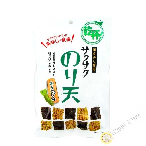 Cracker seaweed wasabi 42g Japan