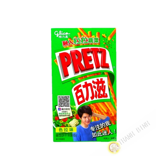 Biscuit stick PRETZ salad with sugar and sweetener GLICO 65g China