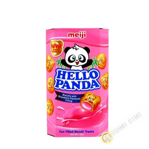 Biscuit Hello Panda fraise MEIJI 50g Chine