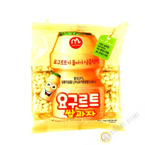 Crackers rice yogurt MAMMOS 70g Korea