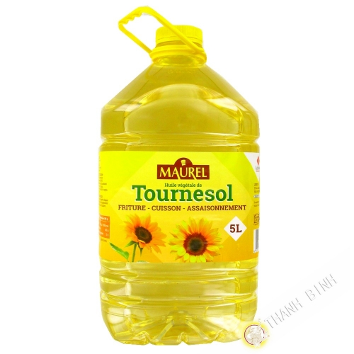 Huile tournesol MAUREL 5L France