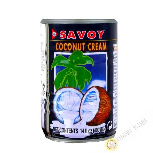 Creme de noix de coco SAVOY 400ml Thailande