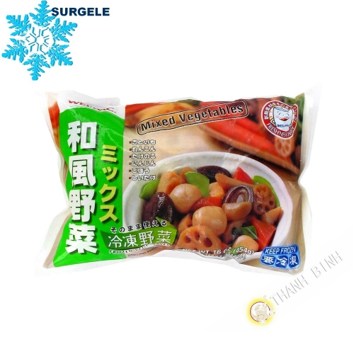 Vegetable mix Wafu yasai mix WEL-PAC 454g - SURGELES