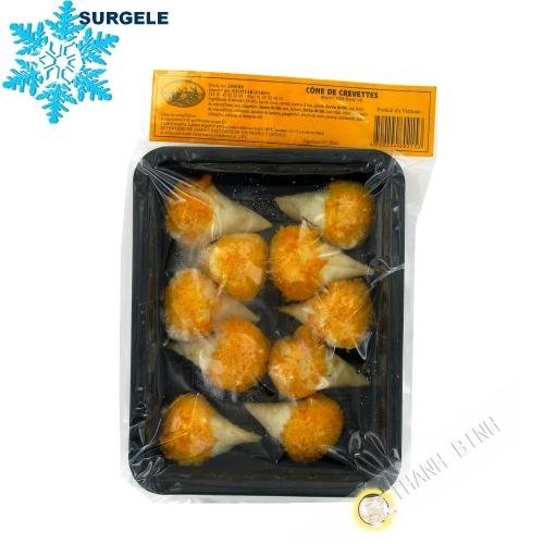 Cones de crevettes 250g Vietnam  - SURGELES