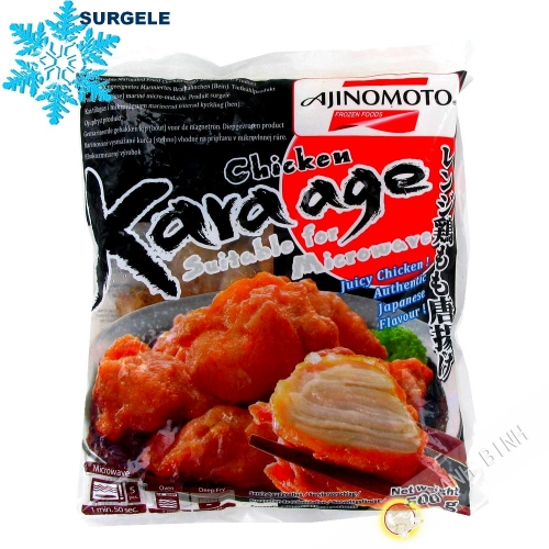 Fried chicken japanese Kara-age micro-ondable AJINOMOTO 500g - SURGELES
