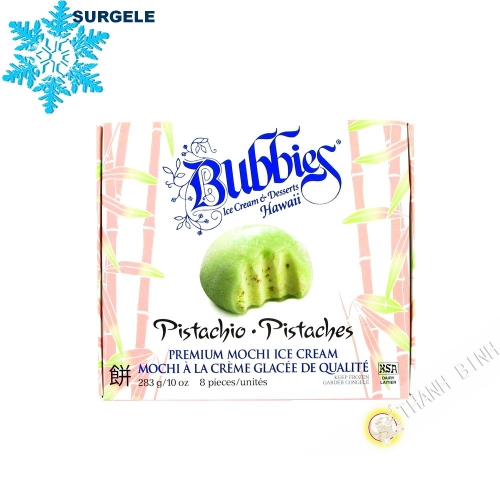 Mochi à la crème glacée à la pistacle BUBBIES 283g Etats-Unis  - SURGELES