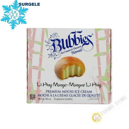 Mochi à la crème glacée à la mangue LI HING  BUBBIES 283g Etats-Unis  - SURGELES