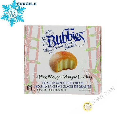 Mochi ice cream mango LI HING BUBBIES 283g United States - SURGELES