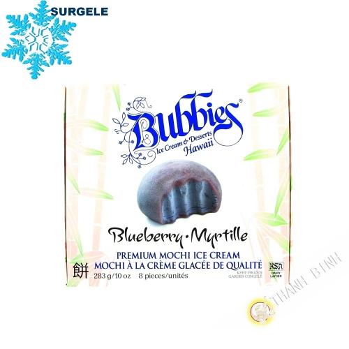 Mochi à la crème glacée à la myrtille BUBBIES 283g Etats-Unis  - SURGELES