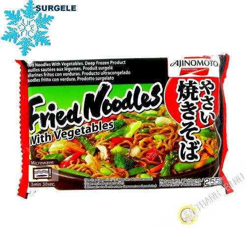 Spaghetti saltati in padella con le verdure, il yakisoba AJINOMOTO 255g Cina - SURGELES