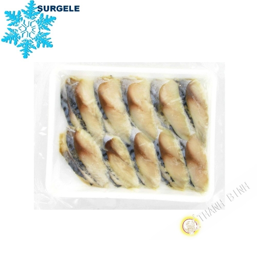 Mackerel Shime Saba-vinegar 20 slices 160g Vietnam - SURGELES