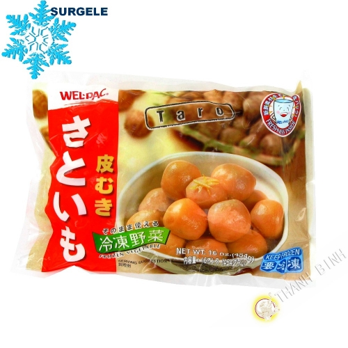 Taro peeled frozen WEL-PAC 454g China - SURGELES