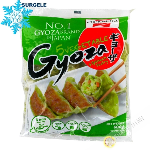 Gyoza with vegetables and spinach 30pcs AJINOMOTO 600g Poland - SURGELES