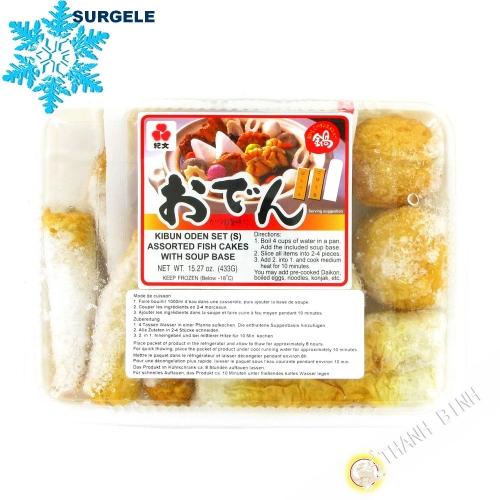 Assortimento patè di pesce KIBUN oden Set 433g Thailandia - SURGELES