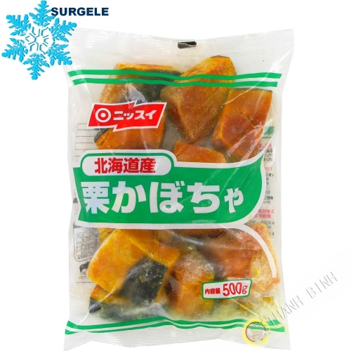 Pumpkin Kabocha cut into cubes 500g Japan - SURGELES