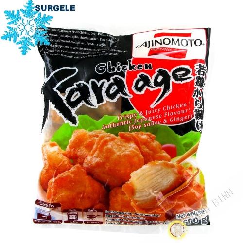 Crispy chicken Kara Age-soy sauce & ginger AJINOMOTO 600g Thailand - SURGELES