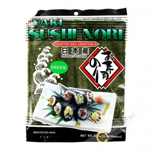 Hoja de algas para sushi 10 hojas NORIICHI 22.6 g Japón