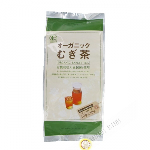 Tè di orzo biologico, mugicha MARUBISHI 200g Giappone