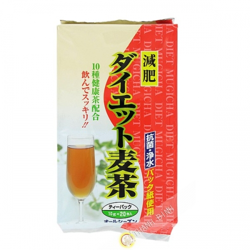 El té de cebada dieta MARUBISHI 200g de Japón