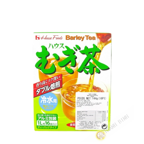 Tea barley HOUSE 144g Japan